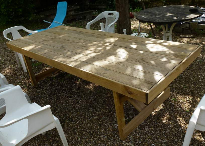 Table ext rieur for Table jeu exterieur